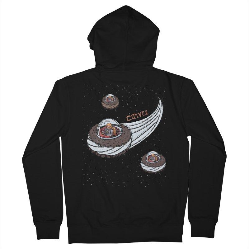 Flying Saucer Spacemen Men's Zip-Up Hoody by Carvel Ice Cream's Shop