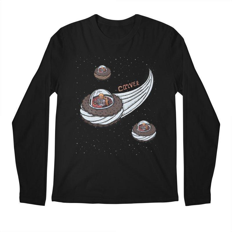 Flying Saucer Spacemen Men's Regular Longsleeve T-Shirt by Carvel Ice Cream's Shop
