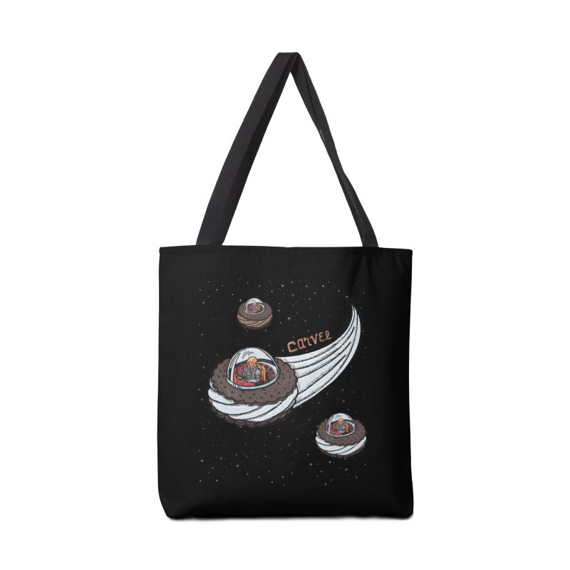 Flying Saucer Spacemen Accessories Tote Bag Bag by Carvel Ice Cream's Shop