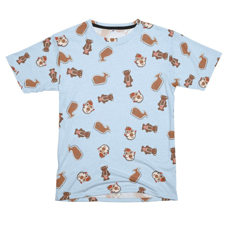 Carvel Cakes Pattern Men's French Terry T-Shirt Cut & Sew by Carvel Ice Cream's Shop