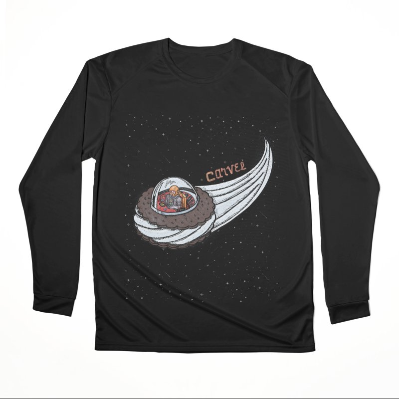 Flying Saucer Spaceman Solo Women's Performance Unisex Longsleeve T-Shirt by Carvel Ice Cream's Shop