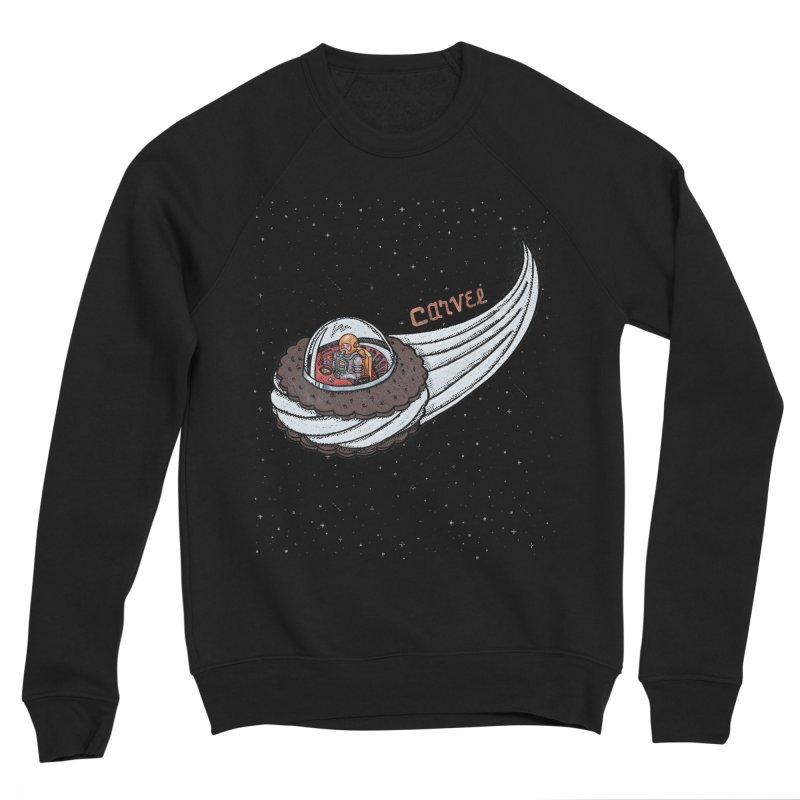 Flying Saucer Spaceman Solo Men's Sponge Fleece Sweatshirt by Carvel Ice Cream's Shop