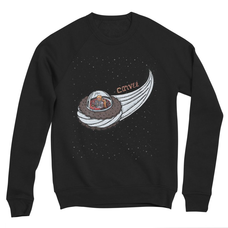 Flying Saucer Spaceman Solo Men's Sweatshirt by Carvel Ice Cream's Shop