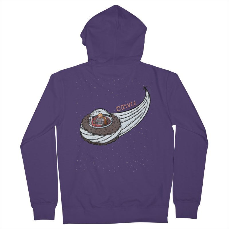 Flying Saucer Spaceman Solo Women's Zip-Up Hoody by Carvel Ice Cream's Shop