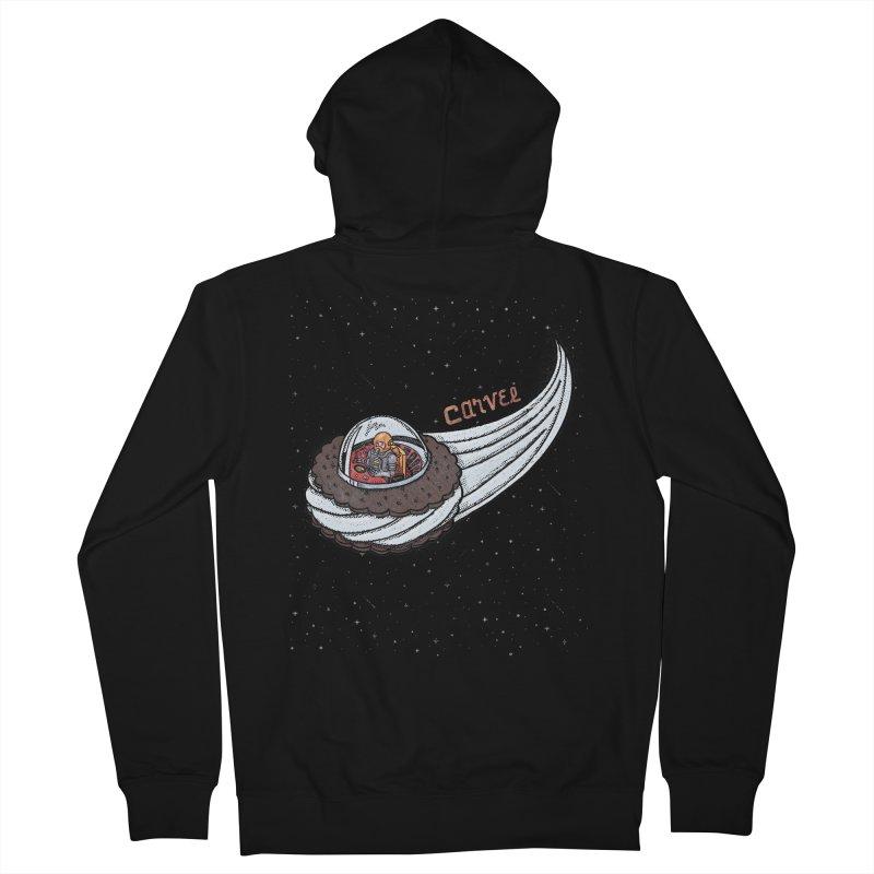 Flying Saucer Spaceman Solo Men's Zip-Up Hoody by Carvel Ice Cream's Shop