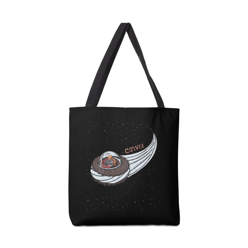 Flying Saucer Spaceman Solo Accessories Tote Bag Bag by Carvel Ice Cream's Shop