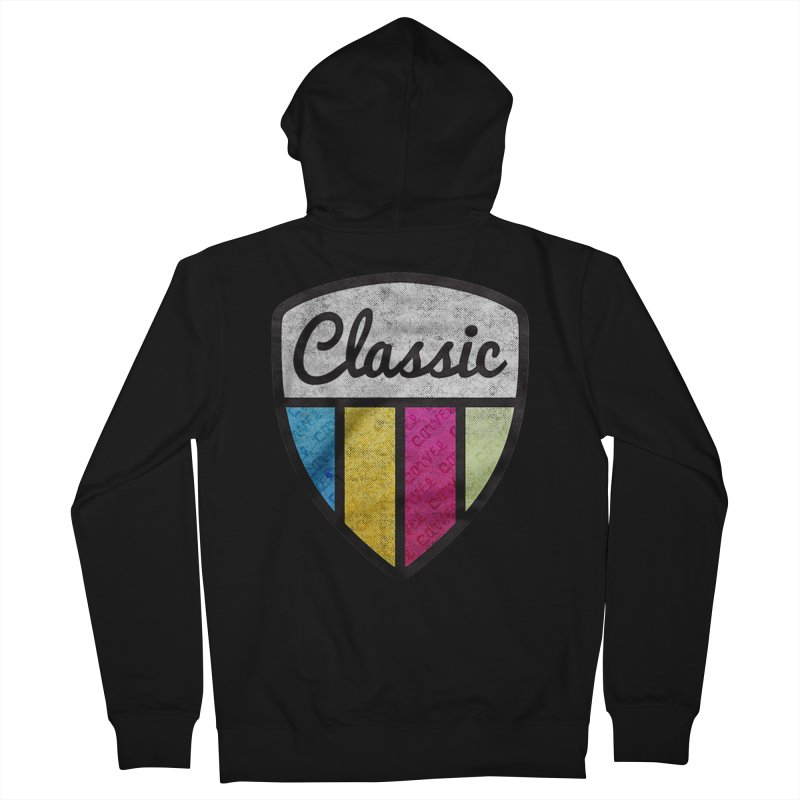 Carvel Classic Logo Men's French Terry Zip-Up Hoody by Carvel Ice Cream's Shop