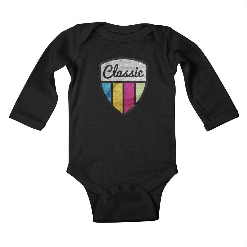 Carvel Classic Logo Kids Baby Longsleeve Bodysuit by Carvel Ice Cream's Shop