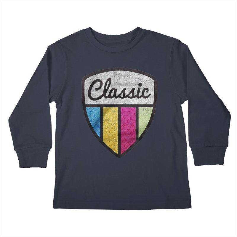 Carvel Classic Logo Kids Longsleeve T-Shirt by Carvel Ice Cream's Shop