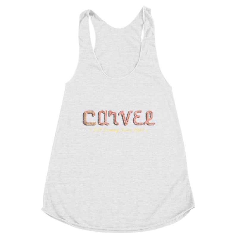Carvel Logo Women's Racerback Triblend Tank by Carvel Ice Cream's Shop