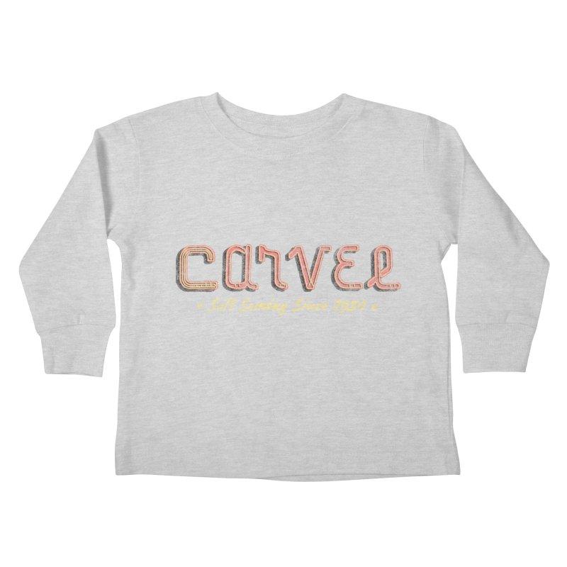Carvel Logo Kids Toddler Longsleeve T-Shirt by Carvel Ice Cream's Shop