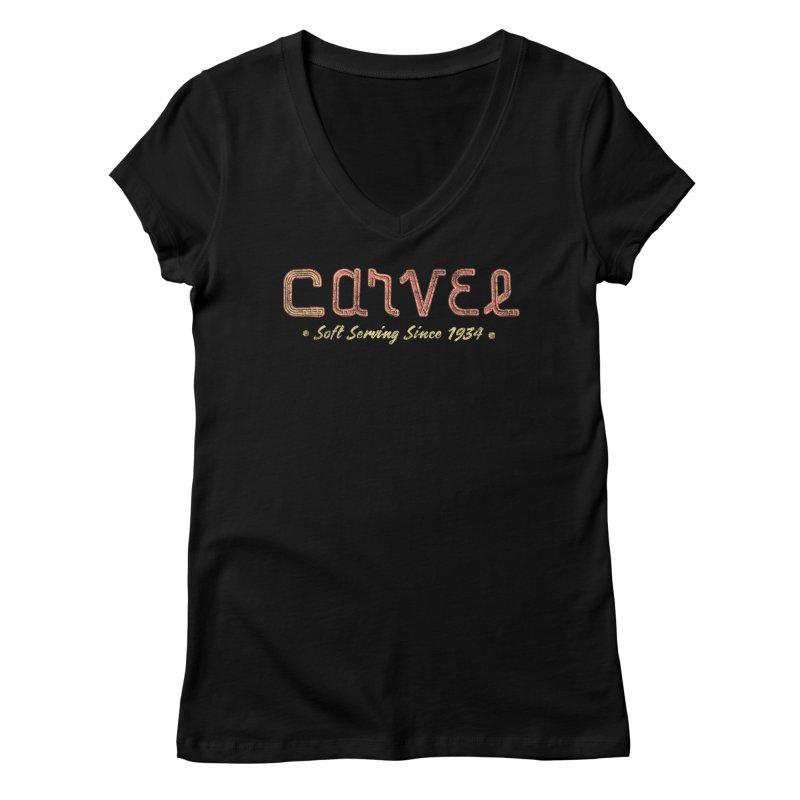 Carvel Logo Women's V-Neck by Carvel Ice Cream's Shop