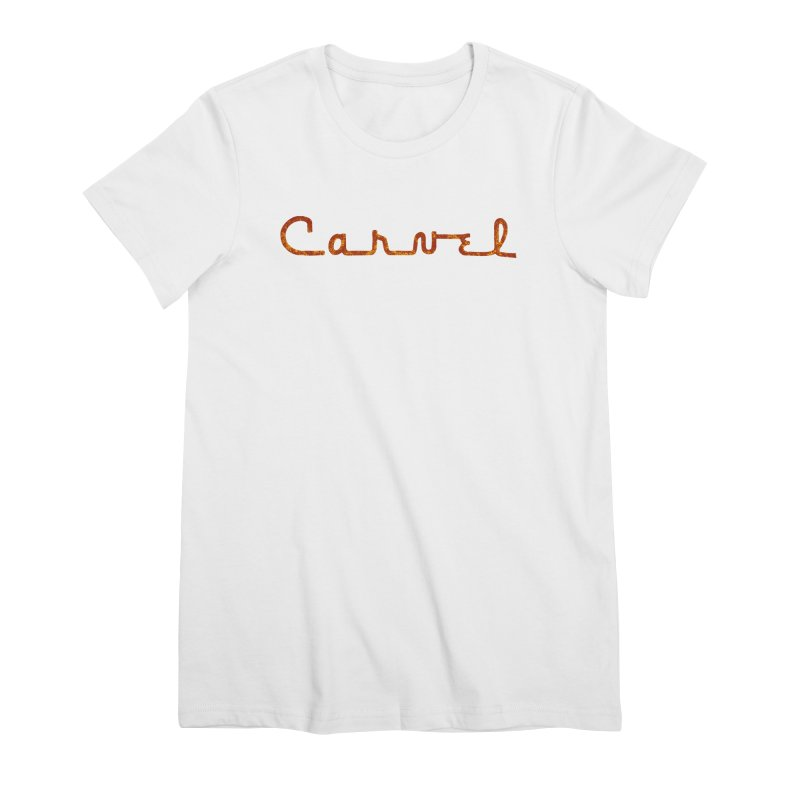 Carvel Retro Logo Women's Premium T-Shirt by Carvel Ice Cream's Shop