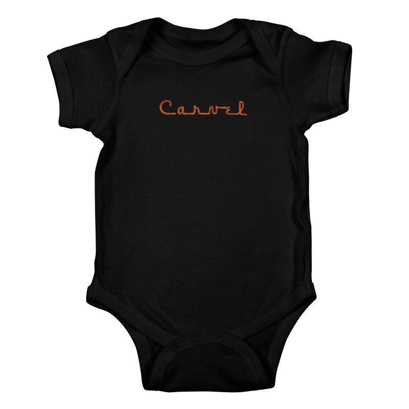 Carvel Retro Logo Kids Baby Bodysuit by Carvel Ice Cream's Shop