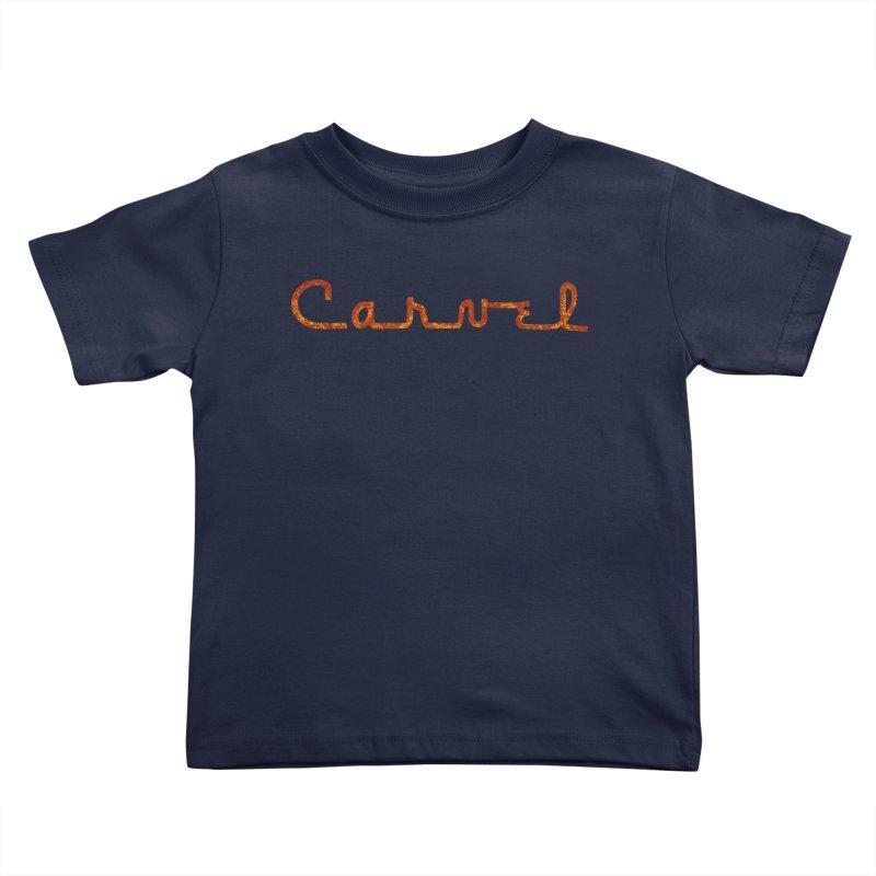 Carvel Retro Logo Kids Toddler T-Shirt by Carvel Ice Cream's Shop