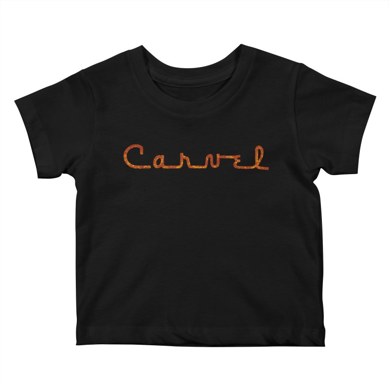 Carvel Retro Logo Kids Baby T-Shirt by Carvel Ice Cream's Shop