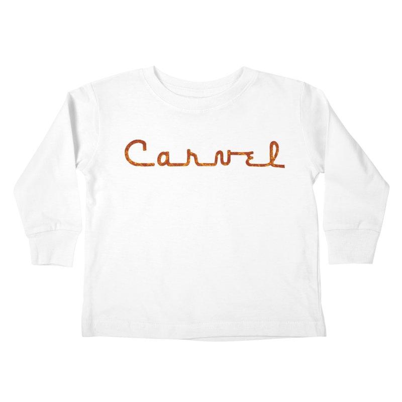 Carvel Retro Logo Kids Toddler Longsleeve T-Shirt by Carvel Ice Cream's Shop