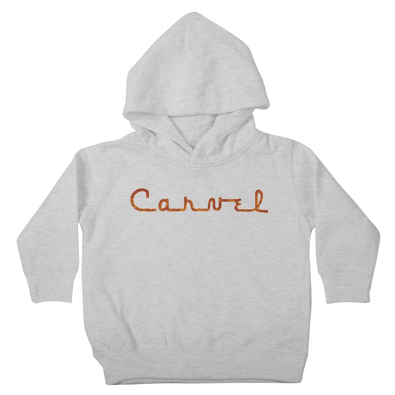 Carvel Retro Logo Kids Toddler Pullover Hoody by Carvel Ice Cream's Shop
