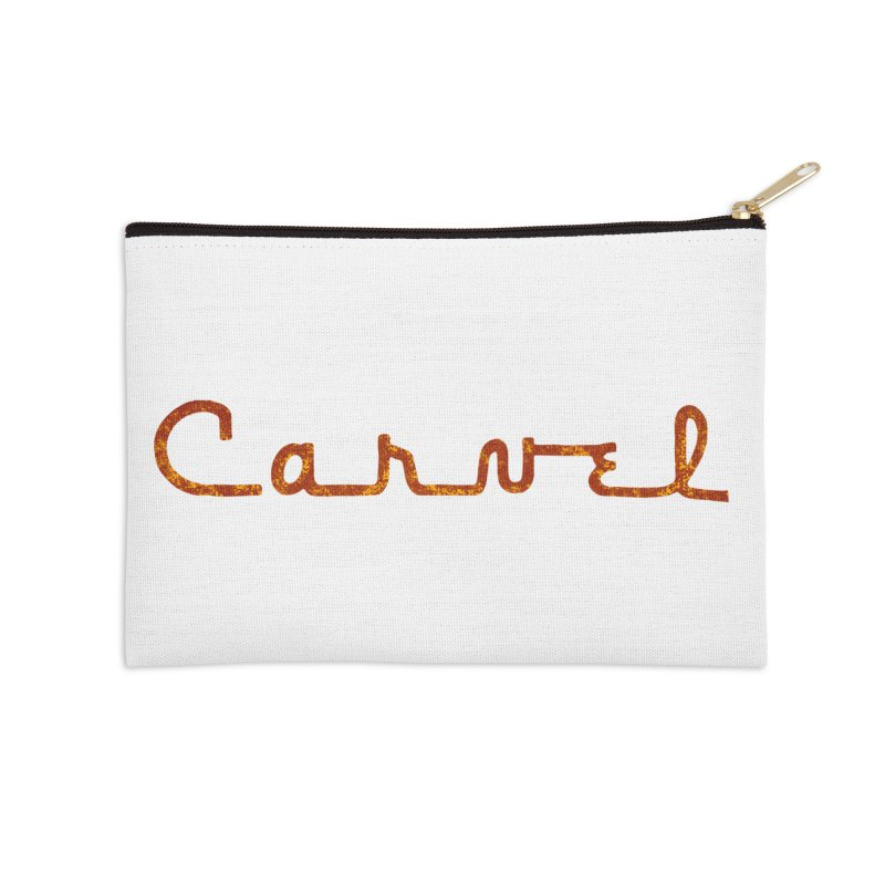Carvel Retro Logo Accessories Zip Pouch by Carvel Ice Cream's Shop