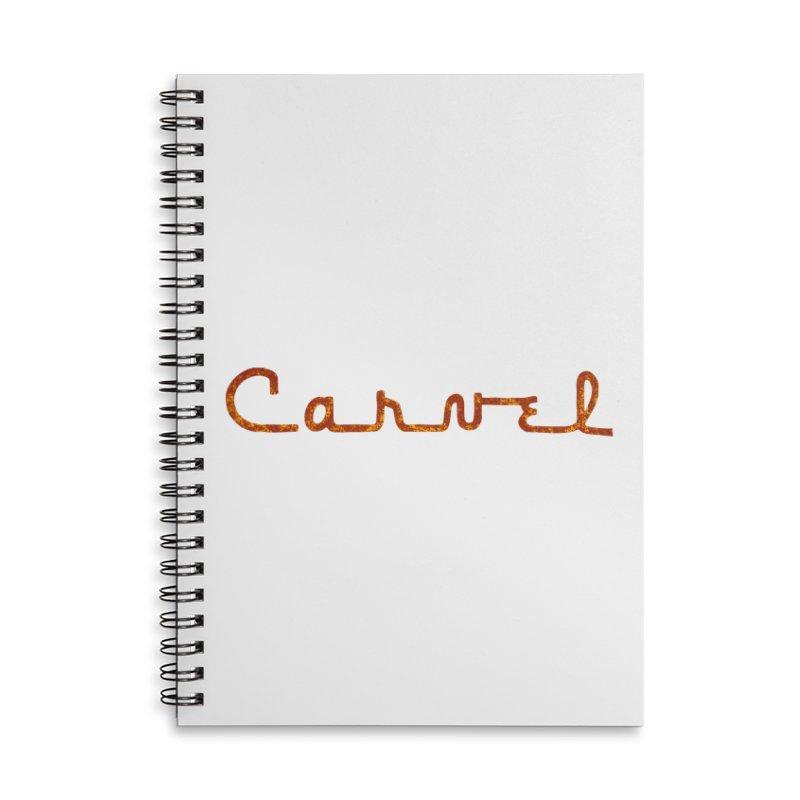 Carvel Retro Logo Accessories Notebook by Carvel Ice Cream's Shop