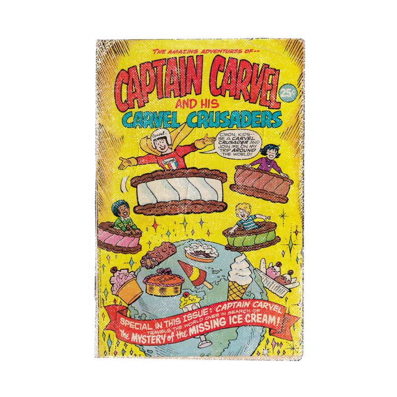 Captain Carvel and his Carvel Crusaders Accessories Magnet by Carvel Ice Cream's Shop