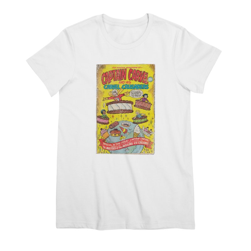 Captain Carvel and his Carvel Crusaders Women's T-Shirt by Carvel Ice Cream's Shop