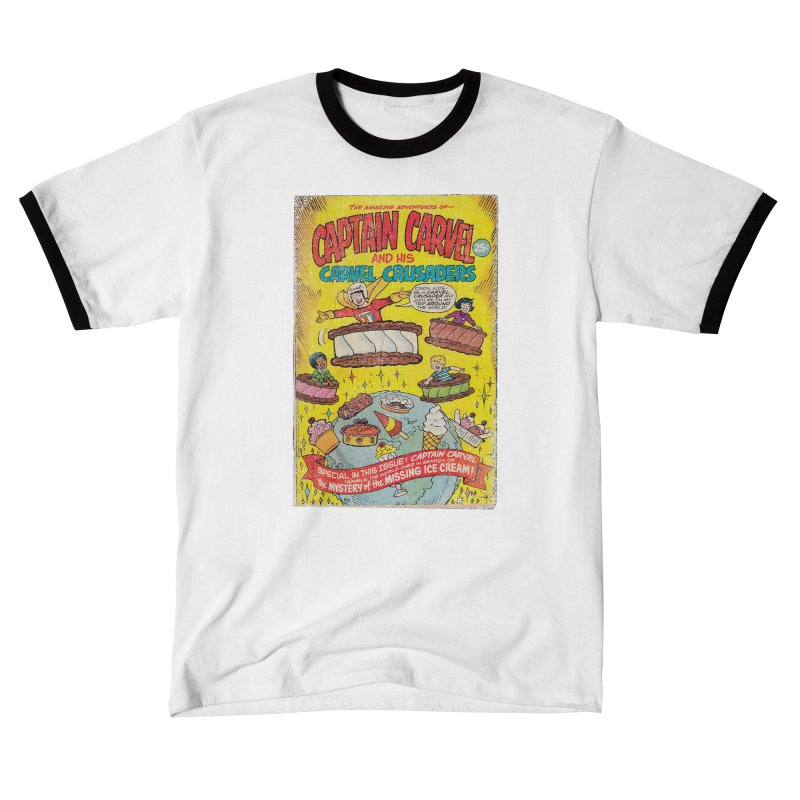 Captain Carvel and his Carvel Crusaders Men's T-Shirt by Carvel Ice Cream's Shop