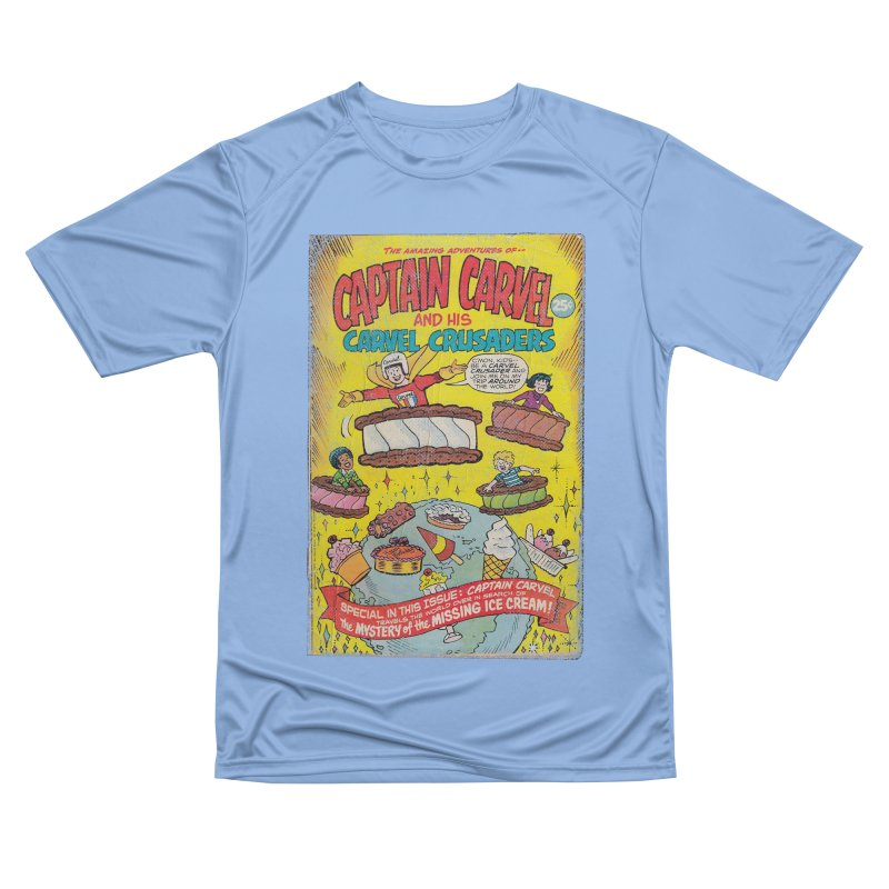 Captain Carvel and his Carvel Crusaders Women's Performance Unisex T-Shirt by Carvel Ice Cream's Shop