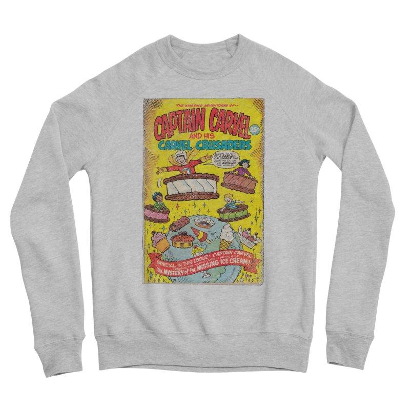Captain Carvel and his Carvel Crusaders Men's Sponge Fleece Sweatshirt by Carvel Ice Cream's Shop