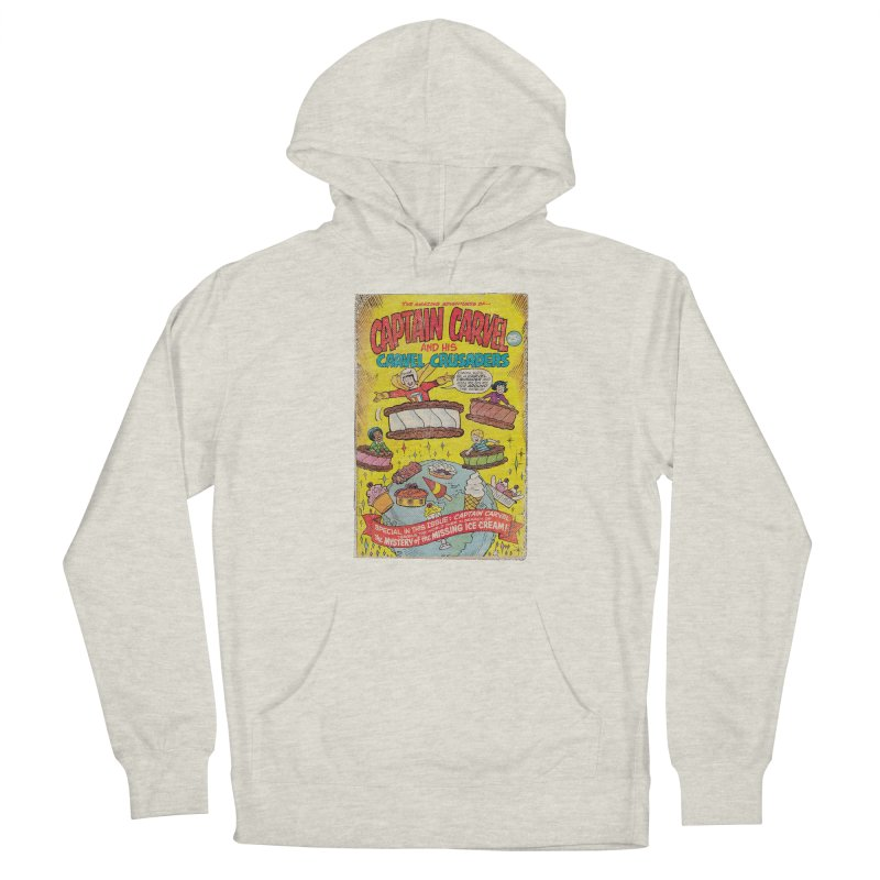 Captain Carvel and his Carvel Crusaders Men's French Terry Pullover Hoody by Carvel Ice Cream's Shop