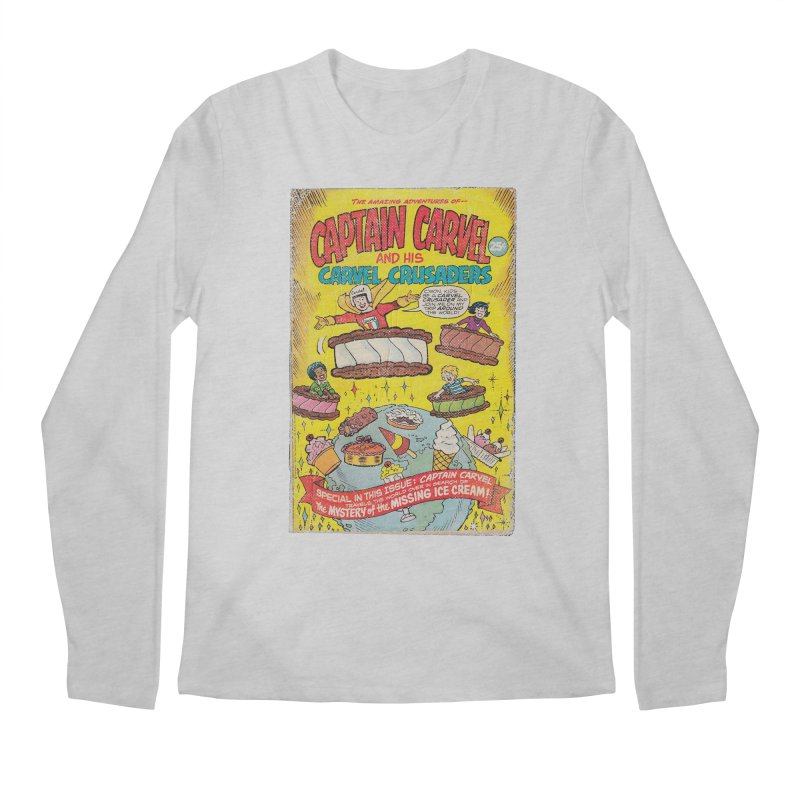 Captain Carvel and his Carvel Crusaders Men's Longsleeve T-Shirt by Carvel Ice Cream's Shop