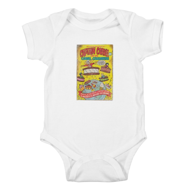 Captain Carvel and his Carvel Crusaders Kids Baby Bodysuit by Carvel Ice Cream's Shop