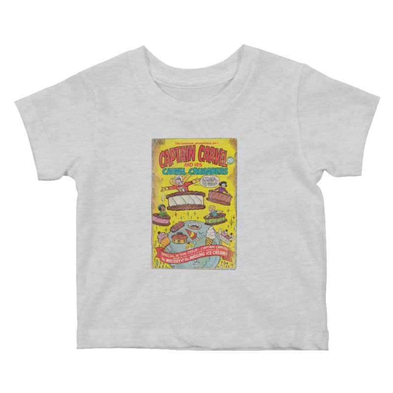 Captain Carvel and his Carvel Crusaders Kids Baby T-Shirt by Carvel Ice Cream's Shop