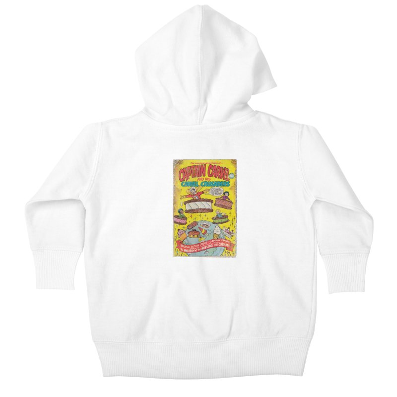 Captain Carvel and his Carvel Crusaders Kids Baby Zip-Up Hoody by Carvel Ice Cream's Shop
