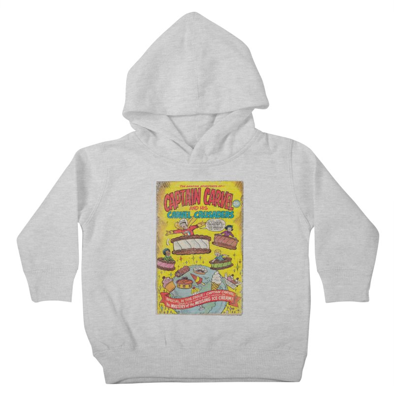 Captain Carvel and his Carvel Crusaders Kids Toddler Pullover Hoody by Carvel Ice Cream's Shop