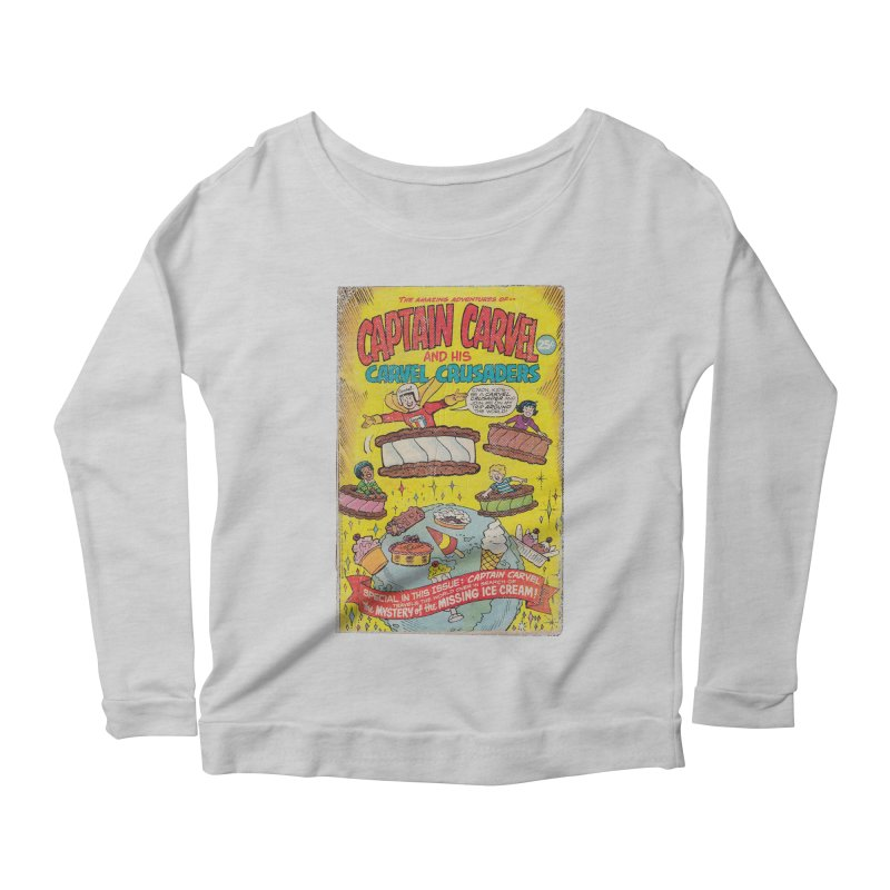 Captain Carvel and his Carvel Crusaders Women's Longsleeve T-Shirt by Carvel Ice Cream's Shop