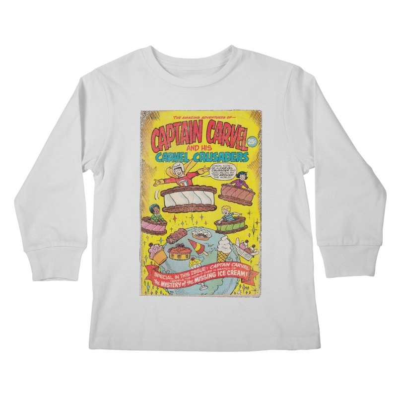 Captain Carvel and his Carvel Crusaders Kids Longsleeve T-Shirt by Carvel Ice Cream's Shop