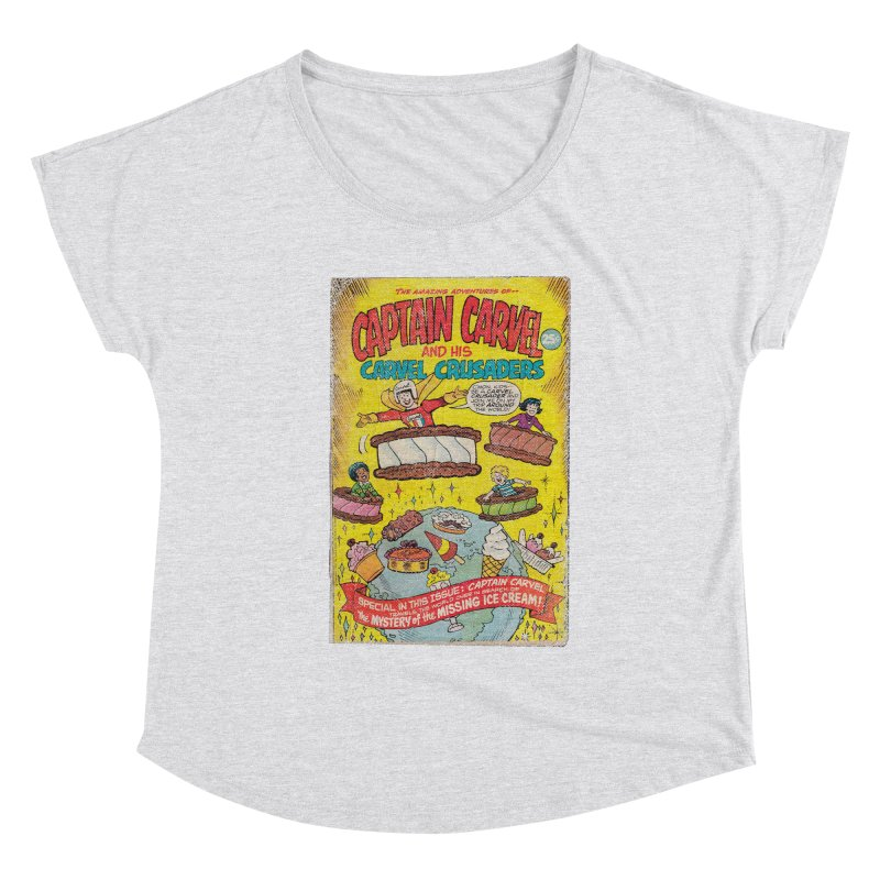 Captain Carvel and his Carvel Crusaders Women's Scoop Neck by Carvel Ice Cream's Shop