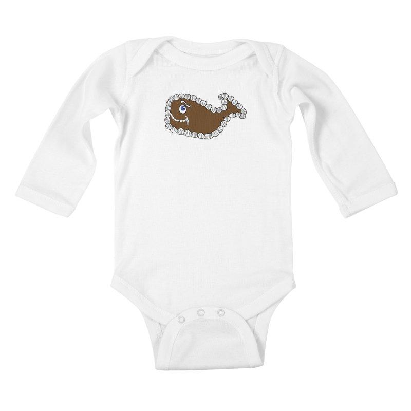 Baby Fudgie Kids Baby Longsleeve Bodysuit by Carvel Ice Cream's Shop