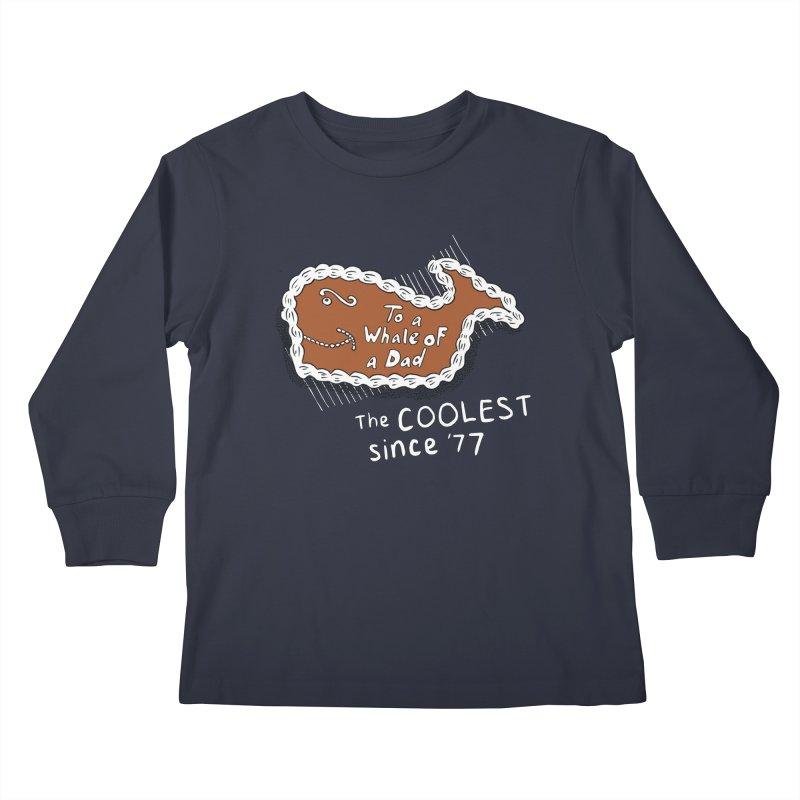 Fudgie - Coolest since '77 Kids Longsleeve T-Shirt by Carvel Ice Cream's Shop