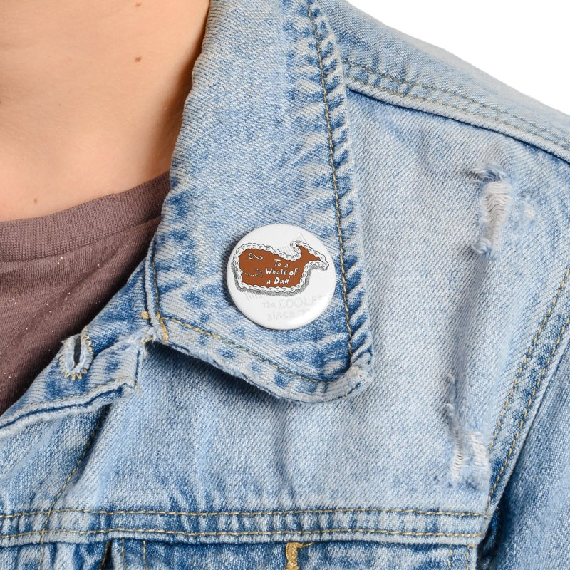 Fudgie - Coolest since '77 Accessories Button by Carvel Ice Cream's Shop