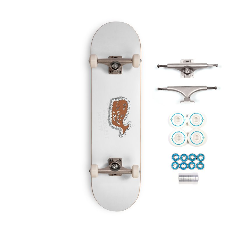 Fudgie - Coolest since '77 Accessories Skateboard by Carvel Ice Cream's Shop