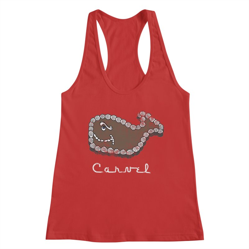 Vintage Fudgie with Logo Women's Tank by Carvel Ice Cream's Shop