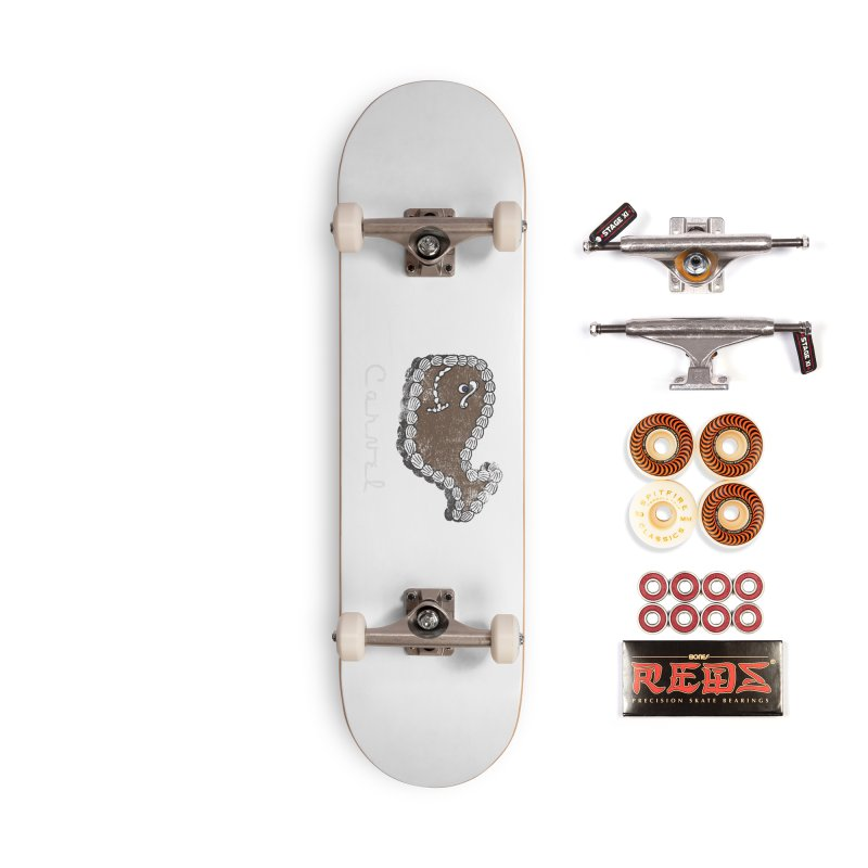 Vintage Fudgie with Logo Accessories Skateboard by Carvel Ice Cream's Shop