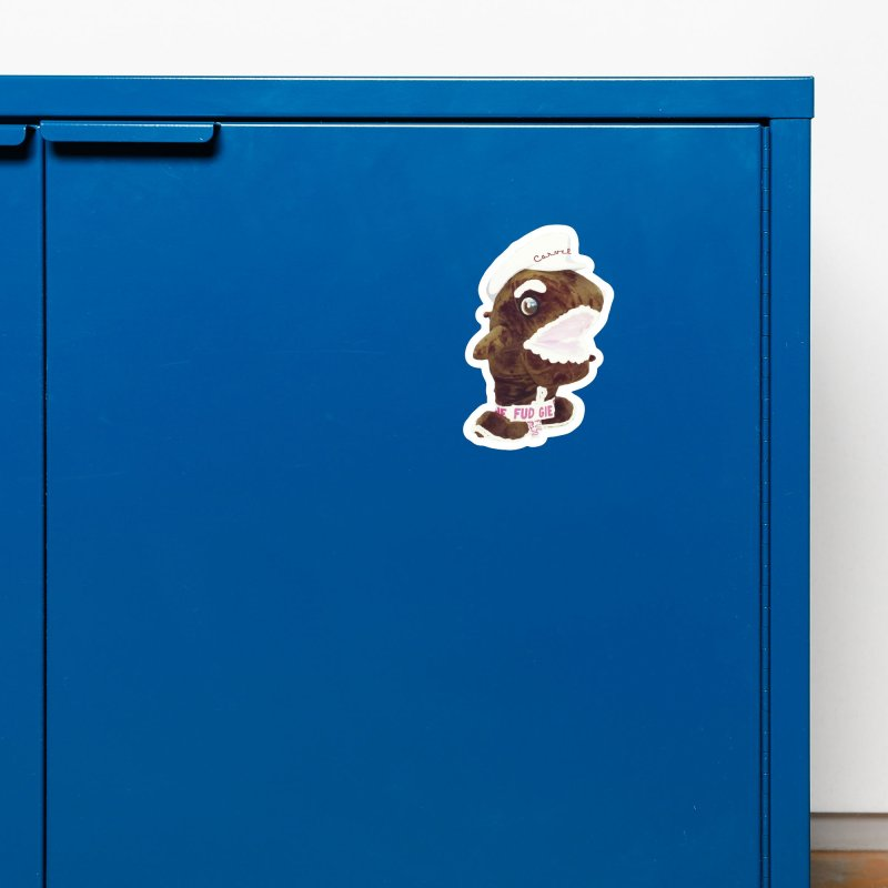 Fudgie Throwback Mascot Accessories Magnet by Carvel Ice Cream's Shop