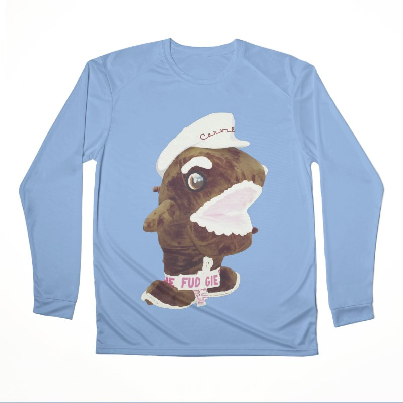 Fudgie Throwback Mascot Women's Longsleeve T-Shirt by Carvel Ice Cream's Shop
