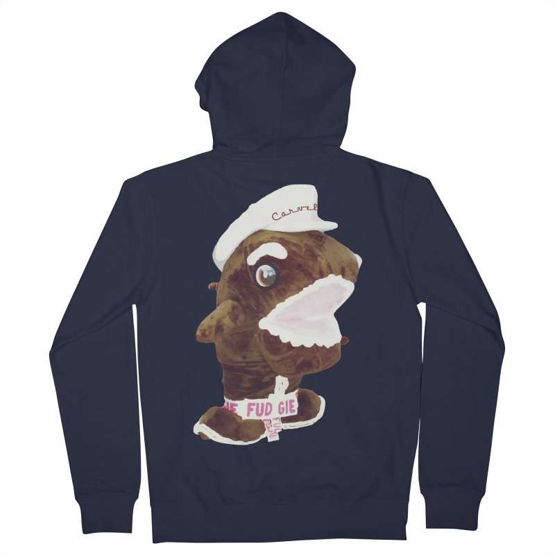 Fudgie Throwback Mascot Women's Zip-Up Hoody by Carvel Ice Cream's Shop