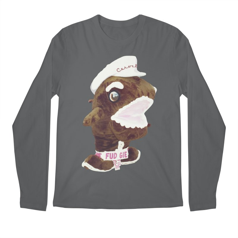 Fudgie Throwback Mascot Men's Longsleeve T-Shirt by Carvel Ice Cream's Shop