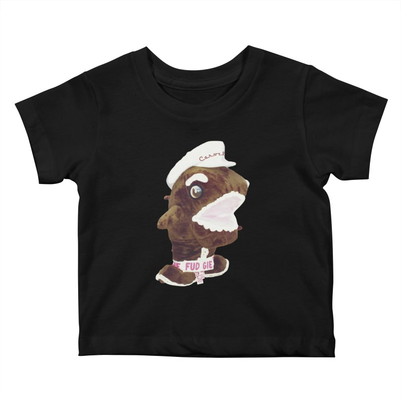 Fudgie Throwback Mascot Kids Baby T-Shirt by Carvel Ice Cream's Shop