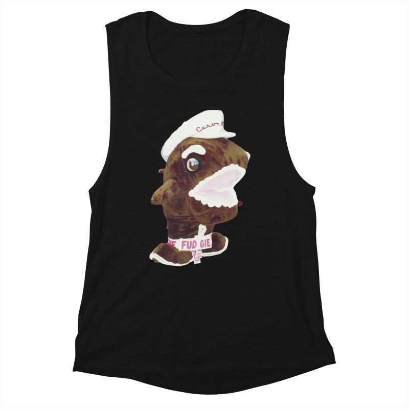Fudgie Throwback Mascot Women's Tank by Carvel Ice Cream's Shop